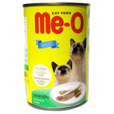 Me - O Canned Sardine In Jelly Cat Food 400gm