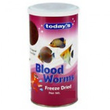 Todays Blood Worms Fish Food ( 10 gm )