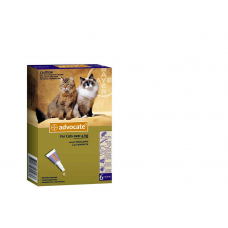 Bayer Pharmaceutic Advocate Cat Spot 0.8 Ml