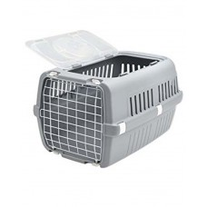 Savic Zephos 2 Open Pet Cage (Grey)
