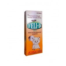 Areionvet Feli-D Cat Deworming ( 20 Tablets )