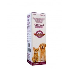 Cipla Oti Veterinary Otivet Pet (15 Gm)
