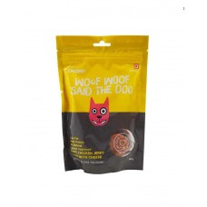 Chomp Dog Treat Soft Chicken Jerky Chips With Cheese