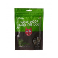 Chomp Dog Dry Jerky Chicken With Kiwi ( 80 gm )
