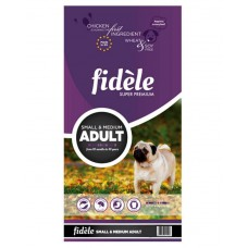 Fidele Adult Small and Medium Dog Food (15Kg)