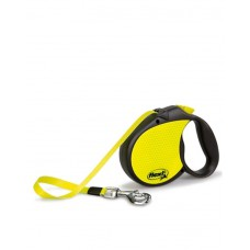 Flexi Neon Reflect Tape Leash (5 M)