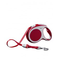 Flexi New Classic Small Tape Leash (Red)