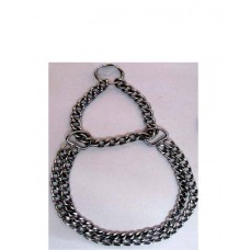 Fekrix Chrome Plated Double Chain 2 mm ( 40 Cm )