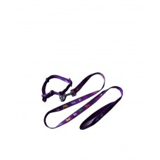 Fekrix Leash With Collar Large ( Purple )