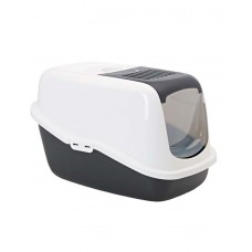 Savic  Nestor Cat Toilet (Black &White)