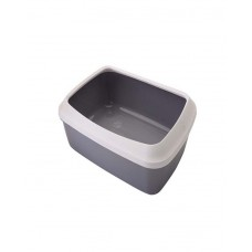 Savic Litter Tray (Gray-White)