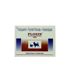 Pfizer Plozin Dewormer For Dog  (12 Tablets)
