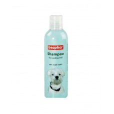 Beaphar Aloevera Shampoo For White Coat Dog (250 Ml)