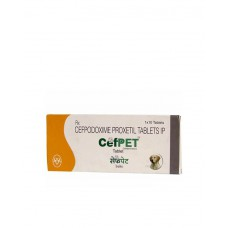 Intas Cefpet Tablet (XL) 200mg (6 Tablets)