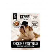 Kennel Kitchen Chicken & Vegetables Adult Large Breed Dog Food ( 500 Gm )