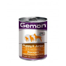 All4Pet Gemon Chunk Puppy And Junior Chicken ( 415 gm )