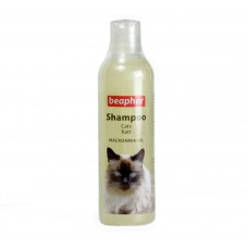 Beaphar Cat Shampoo Macadamia Oil  (250 ml)