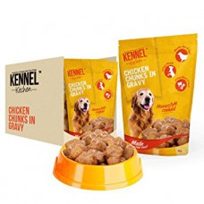 Kennel Kitchen Chicken Chunk In Gravy Dog Food (100 Gm)
