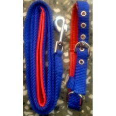 Padded Grip Leash With Collar Set (Medium)