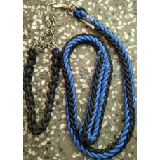 Criss-Cross Collar Leash With Chain Set